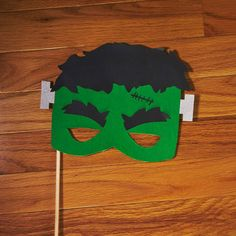 Frankenstein Photo Booth Prop  Glitter Photo Prop  by LoveMischka