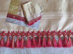 Saree Tassels Designs, Saree Kuchu Designs, Best Blouse Designs, Maggam Work Designs, Plain Saree, Blouse Models, Elegant Saree, Indian Beauty Saree, Saree Styles