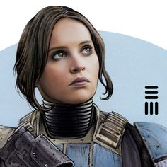 Jyn Erso, Work in Progress by Erik-Maell. #StarWars #Art #gosstudio .★ We recommend Gift Shop: http://gosstudio.com