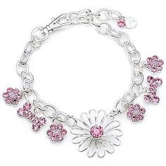 Jewelry Dog Collar, Sunflower Blazing Pink Bling, 100% Bling and Beyond Bling Pet Products