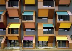 Honeycomb Apartments Social Housing in Slovenia