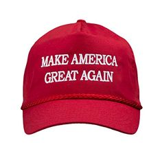107e81b142d Donald Trump 2016 Make America Great Again Embroidered Rope Hat
