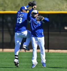 Salvy and Moose perfect their celebration ritual. #ForeverRoyal