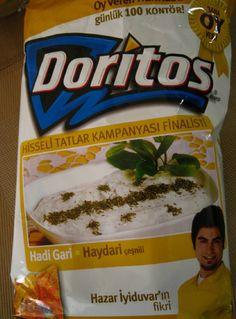 Yogurt And Mint Doritos - Turkey