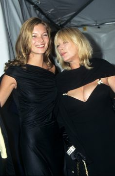 with Marianne Faithful at Gala Evening to benefit the New Costume Institute