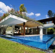 Integrated pool