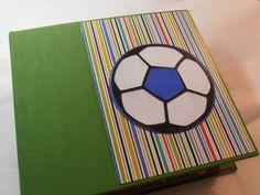 Soccer scrapbook