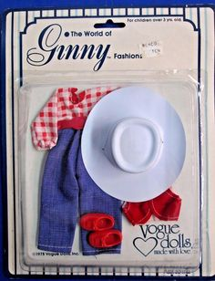 NEW 1978 Ginny Fashions Vogue Dolls Farmer/Cowgirl Outfit Asst. 30-1744 | Dolls & Bears, Dolls, By Brand, Company, Character | eBay!