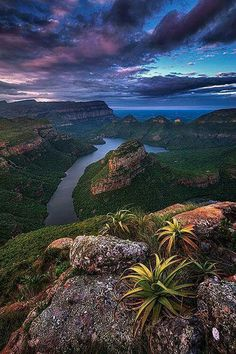 Blyde River Canyon at Mpumulanga,South Africa.