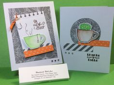 The Paper Hen: July 2015 Stampin Up Paper Pumpkin: Thanks a Latte ....Alternative ideas