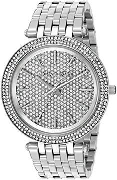 Michael Kors Womens Darci SilverTone Watch MK3437 *** Continue to the product at the image link.