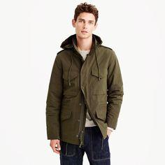 Nylon M-65 jacket