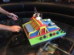 Slide Cake