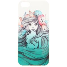 Disney The Little Mermaid iPhone 4/4S Case | Hot Topic ($9.99) ❤ liked on Polyvore featuring accessories, tech accessories, phone cases, phones, cases and disney