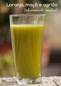 Mel e Pimenta: Suco verde - Uma delícia
