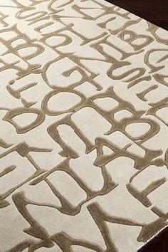 Lies New Zealand Wool Rug - Ivory by Surya on @HauteLook