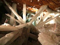 Mexico's Cave of Crystals, buried below the Chihuahuan desert
