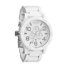 Nixon - 51-30 Chrono Watch - All White / Silver
