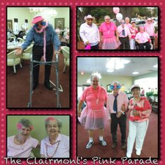 Pink Parade for Breast Cancer Awareness at The Clairmont - Austin, Texas
