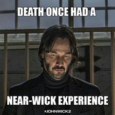 death once had a near-wick experience