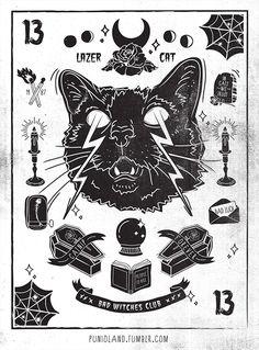 #cat #halloween #punioland #puniathecat #pumpkin #skull #ghost #trickortreat #trickortuna #catnip #boo #horror #witch #grave #spiderweb #badluck #13 #lazercat #spooky #creepy #badwitchesclub #spider #moon #rose #candle #blackcat