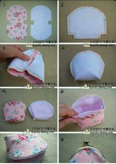 Best Picture For diy purse for kids For Your Taste You are looking for something, and it is going to tell you exactly what you are looking for, and you didn't find that picture. Here you will find the Coin Purse Tutorial, Pouch Tutorial, Diy Coin Purse Pattern, Handbag Tutorial, Patchwork Bags, Quilted Bag, Bag Patterns To Sew, Sewing Patterns, Bag Quilt