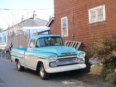 I would also like a 50's pick up!