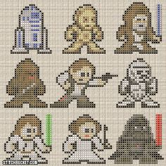 Star Wars A New Hope  Pattern by StitchBucket