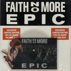For Sale -Faith No More Epic UK  shaped picture disc (picture disc vinyl record)- See this and 250,000 other rare and vintage records & CDs at http://eil.com/