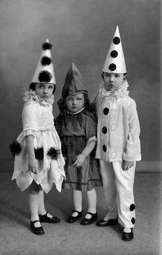 kids pierrot pierrette costumes