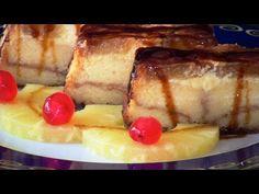 Pudin de piña, un postre que refresca - Cocina familiar | Cocina familiar