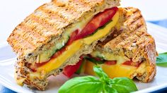 Who doesn't love a gooey, cheesy sandwich? Learn how a few smart swaps can turn this comfort food favorite into a healthy meal. #healthyrecipes #healthygrilledcheese #sandwichrecipes #nationalcheeseloversday #everydayhealth | everydayhealth.com