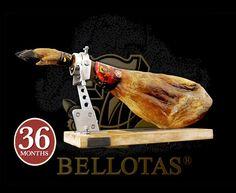 """Jamón 7 Bellotas es una Delicatessen en Toda Regla, se trata de un jamón ibérico """"Pata Negra"""" con mas de 36 meses de curado"""