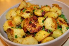 Hey, Mom! What's For Dinner?: Roasted Boiled Potatoes