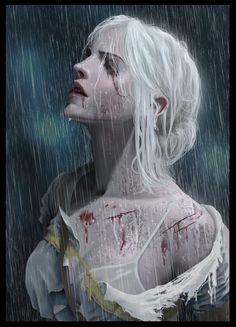 Ciri by Septian Devenum #TheWitcher3 #PS4 #WILDHUNT #PS4share #games #gaming #TheWitcher #TheWitcher3WildHunt