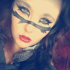 If I ever do black veil brides make up :P It's classy and suits girls in my opinion.