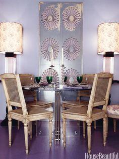Lavender...Benj. Moore Spring Iris 1402....cheery colour