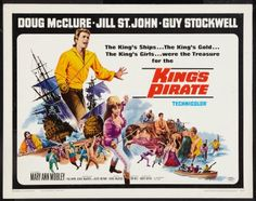 The King's Pirate (1967).  Lt. Brian Fleming volunteers to be flogged for a contrived offense and then discharged from the British Navy. Now he can infiltrate the pirate stronghold of Diego Suarez using his whip-scarred back as proof of his disgrace. While gathering inside information about this stronghold's fortifications, he falls in love with Jessica Stephens who's also courted by the pirate captain, John Avery.  Then things really get dicey!  www.ephemeritor.com