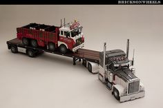 Bricksonwheels and Dennis Bosman (Legotrucks)