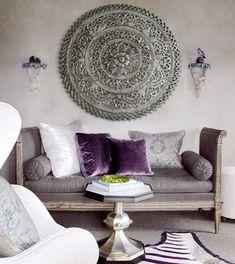Cuadros mandalas para sofas elegante y con car cter - Cuadros estilo colonial ...
