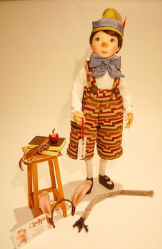 Pinocchio - Pinocho by Arellyas, via Flickr