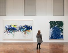 Joan Mitchell Foundation » News & Events » Joan Mitchell: The Last Paintings opens at Hauser & Wirth Gallery