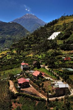Baños Ecuador, funny, spent a whole week here, recovering from a gastro. Great place to recover, quite and beautiful people. Places Around The World, The Places Youll Go, Great Places, Places To See, Beautiful Places, Around The Worlds, Beautiful People, Amazing Places, Quito