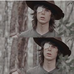 the walking dead and chandler riggs image
