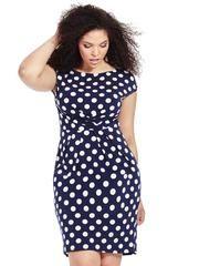55a7160760c304 Eliza J | Shift Dress In Kaleidoscope Print | Gwynnie Bee Eliza J Dresses,  Plus