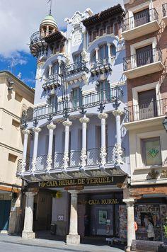 Streets of Teruel, Spain