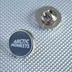 Arctic Monkeys Round Lapel pin/ pin badge by WeeHings on Etsy