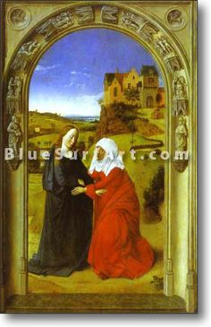 The Visitation - £124.99 : Canvas Art, Oil Painting Reproduction, Art Commission, Pop Art, Canvas Painting