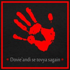 Band of red hand banner - Its time to toss the dice