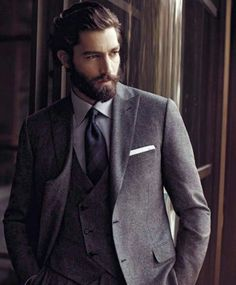 Excellent Beard Suit Beards And Suits On Pinterest Short Hairstyles Gunalazisus